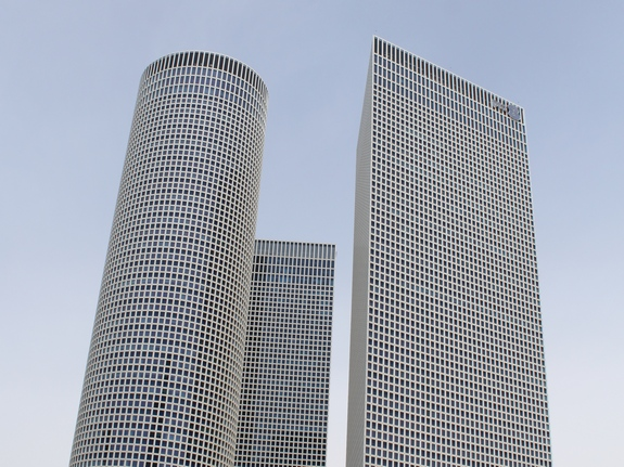 небоскребы в Тель-Авиве