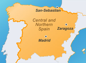 Центральная и Северная Испания