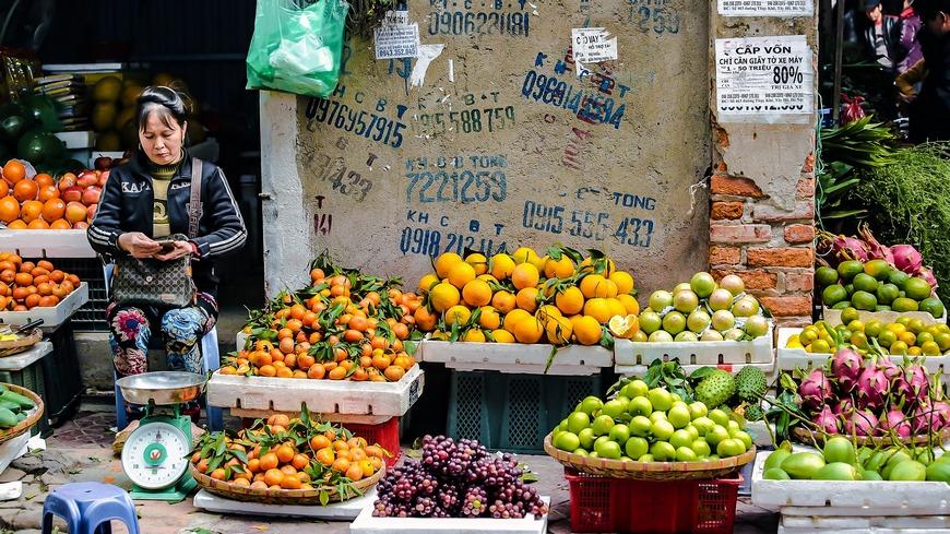 Уличная торговля во Вьетнаме
