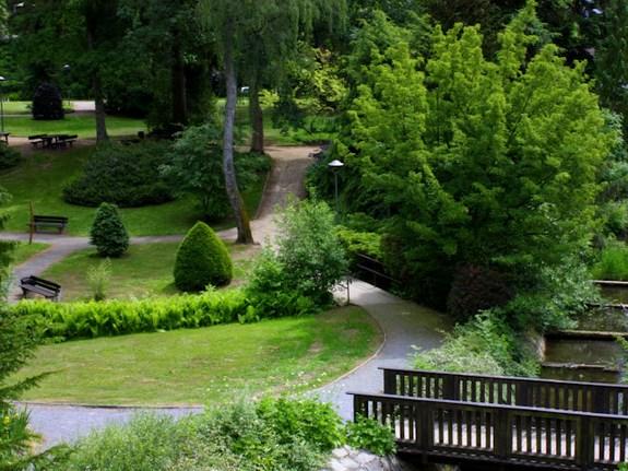 Городка в Нижней Саксонии парк