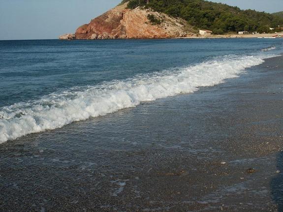 Пляжи в Черногореи