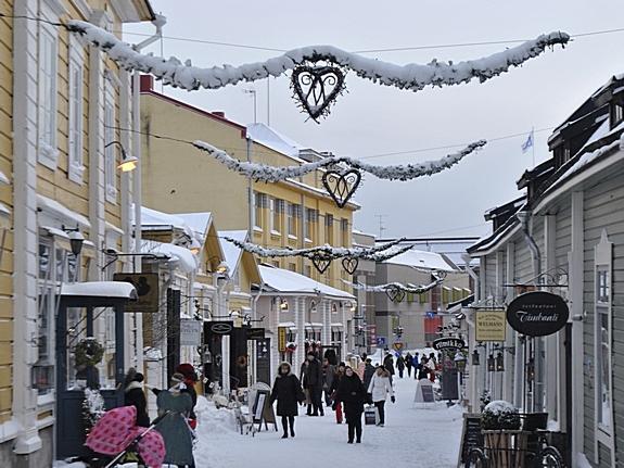 Финляндия, как мы с вами постоянно говорим, в зимнюю пору