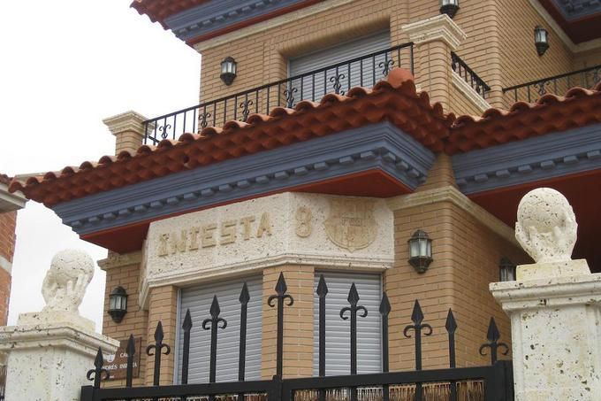 дом Иньесты в Испании