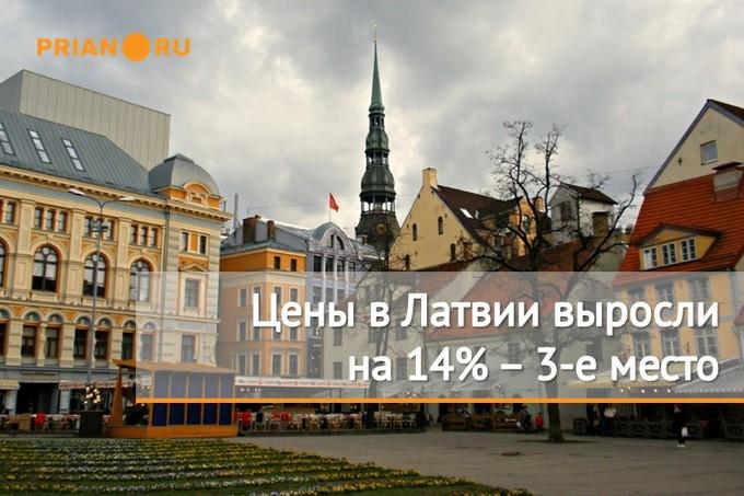 Рост цен на недвижимость Латвии