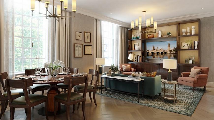 Типичная квартира в Лондоне