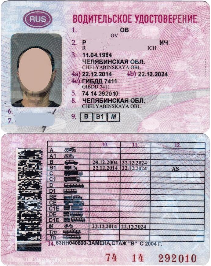 можете современное водительское удостоверение фото стиль