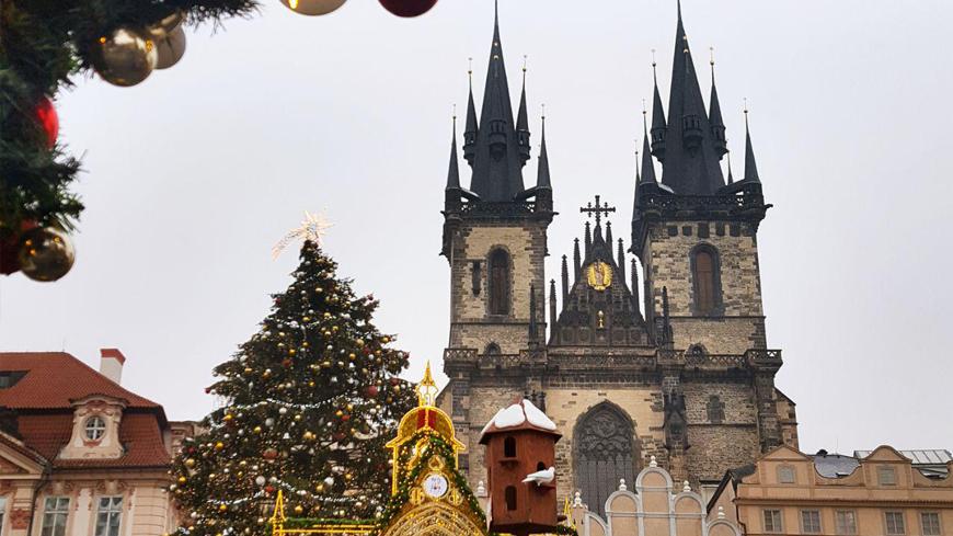 Предрождественская Прага