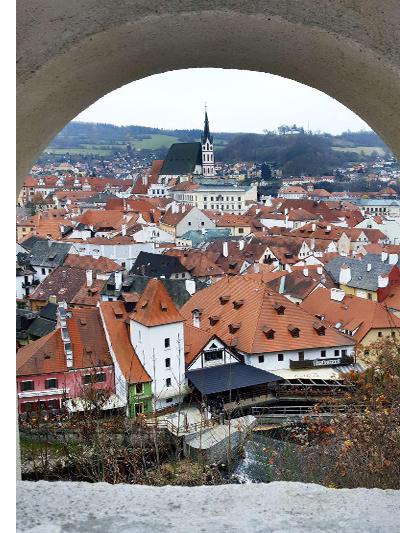 Вид на городскую панораму