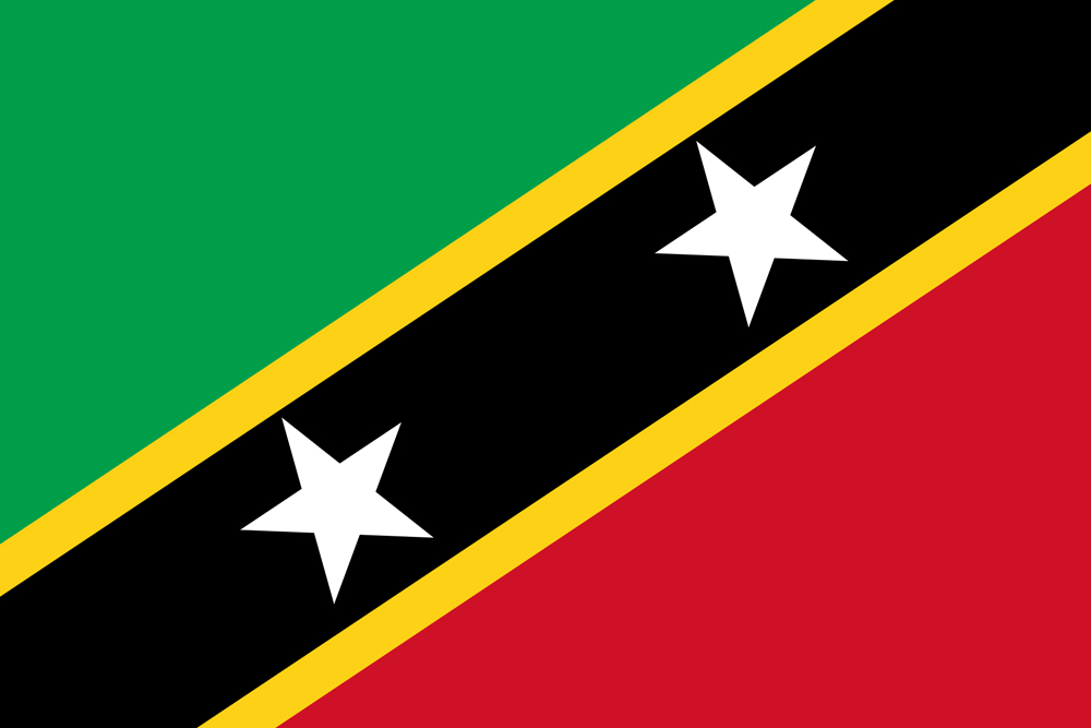 флаг Сент-Киттс и Невис