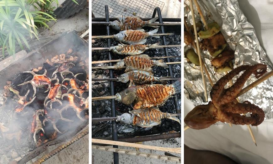 Еда на Мальдивах