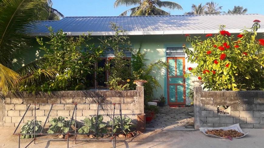 Дом на Мальдивах