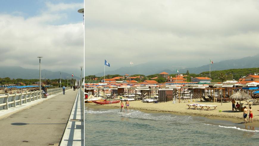 Пляжи Форте деи Марми